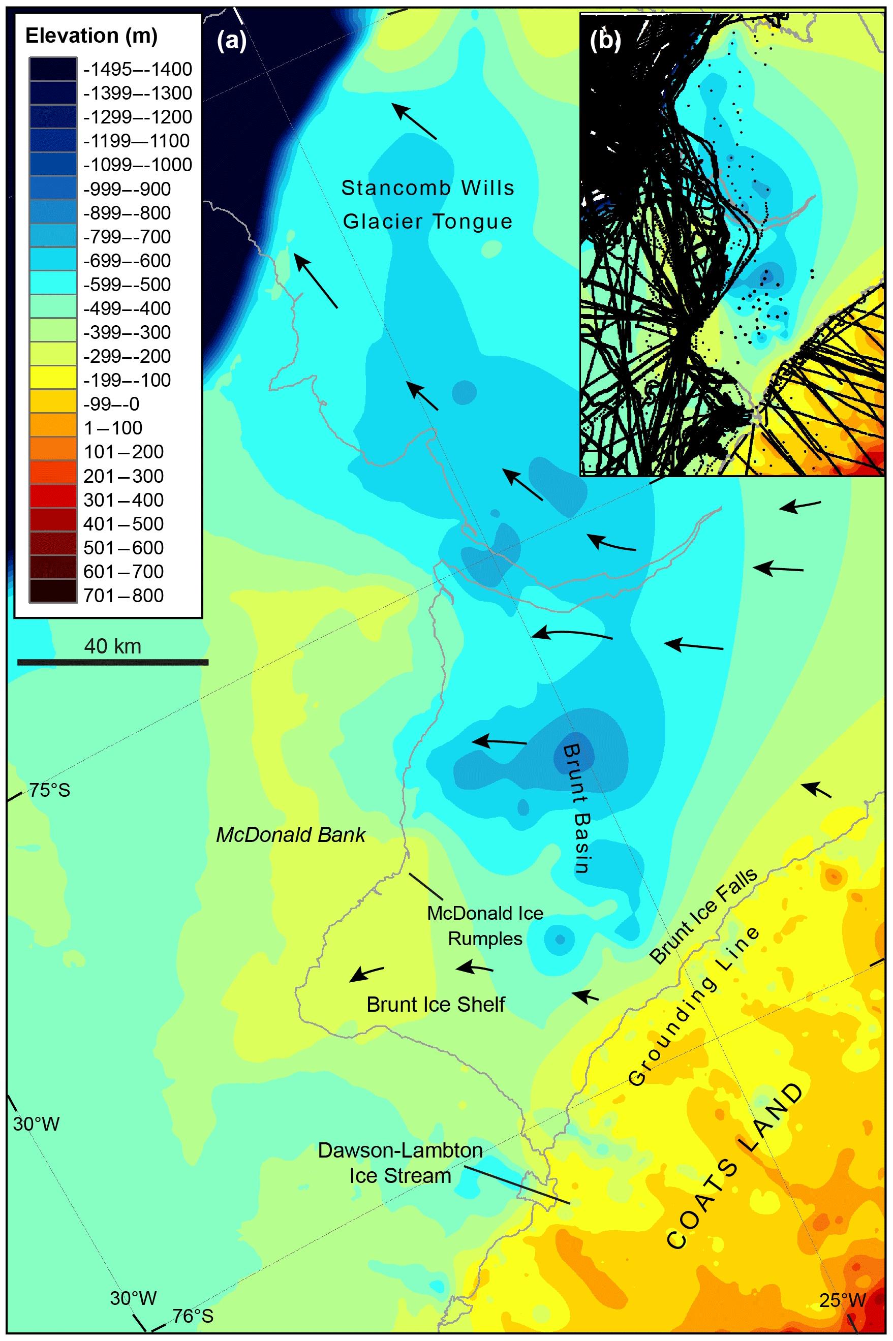 TC - Deglaciation and future stability of the Coats Land ice margin