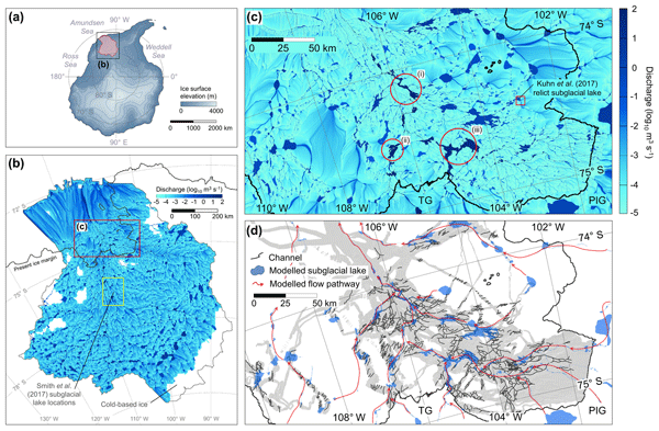 TC - Relations - Estimation of the Antarctic surface mass